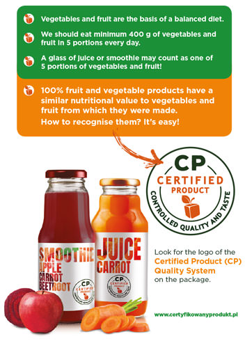 Juice - certified product