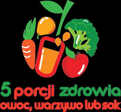 5 porcji zdrowia - owoc, warzywo lub sok