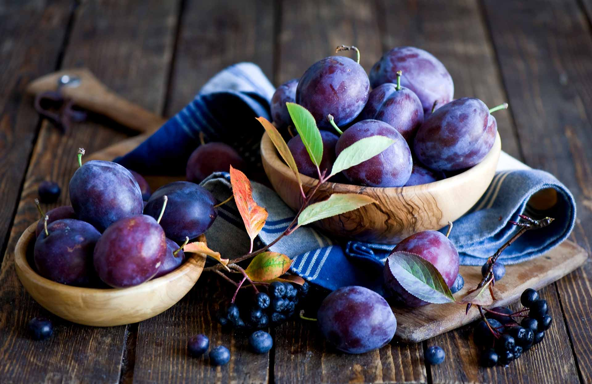Wrzywa i owoce - śliwki