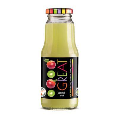 Zdrowy sok - certyfikowany produkt - sok 100%