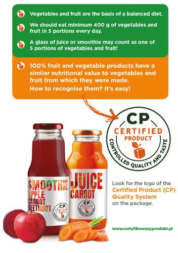 Juice - certified product